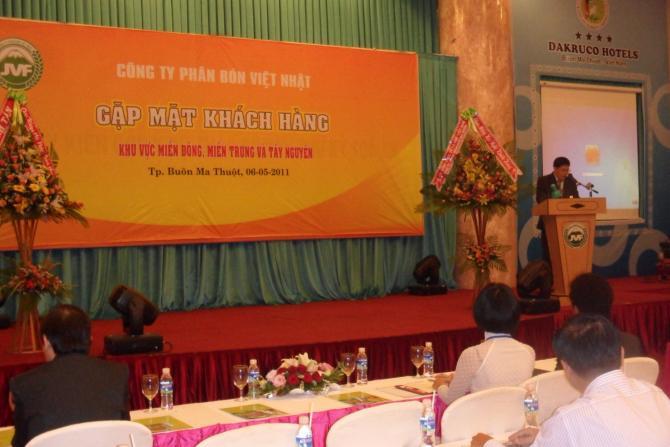 Hình ảnh hội thảo của công ty Phân Bón Việt Nhật