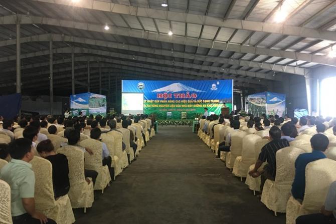 Hội thảo 'NPK Việt Nhật nâng cao hiệu quả và sức cạnh tranh cây mía'