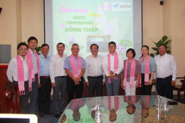 Đồng Tháp: Tập đoàn Sojitz tìm hiểu đầu tư nông nghiệp công nghệ cao