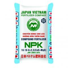 NPK 16-10-6+1,5Ca+1Mg JVF 2001/JF2