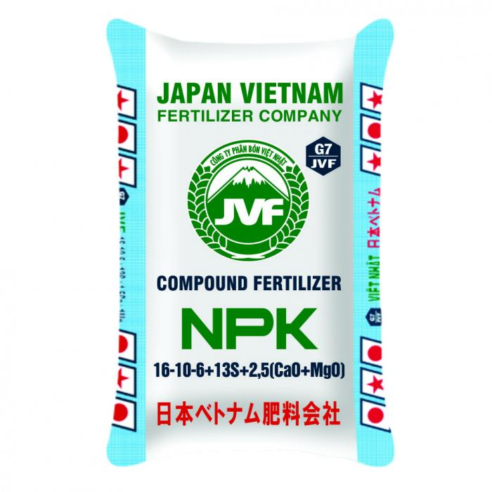 NPK 16-10-6+13S+1,5Ca+1Mg